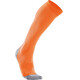 2XU W's Compression Performance Run Sock Fluro Orange/Limestone